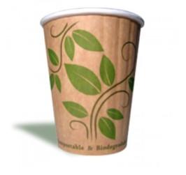 Bio Koffiebeker 360 ml dubbele wand
