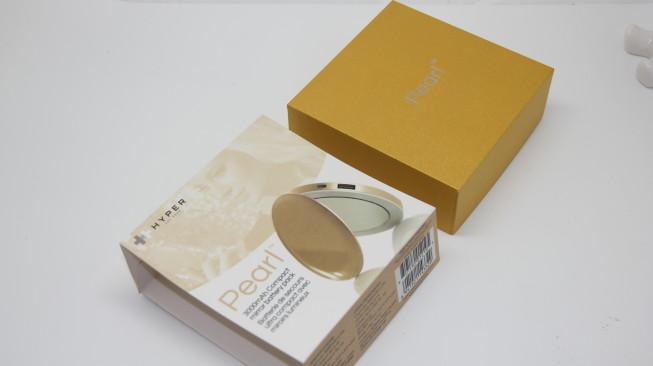 Pearl verpakking goud